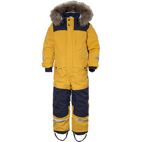 DIDRIKSONS Polarbjörnen Coverall Barn oat yellow